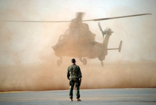 French Military Conduct Major Air Strikes in Mali