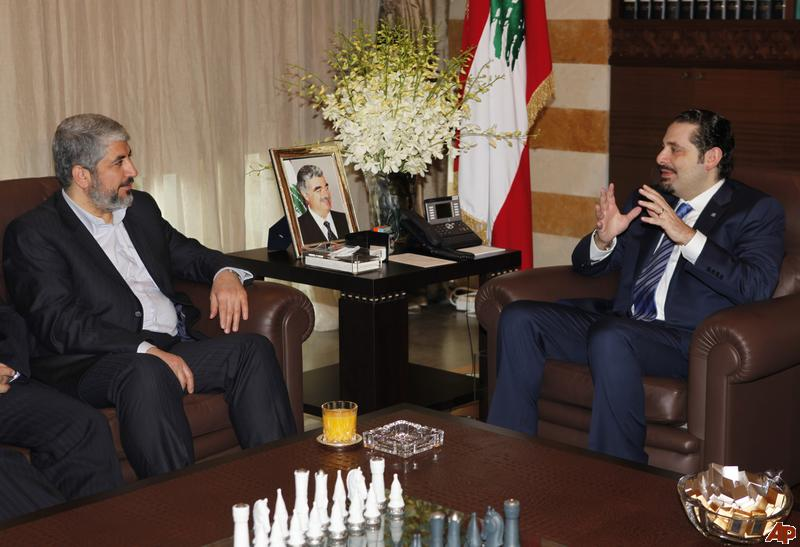 Saad Hariri: 'Friend' of Hamas, Supporter of Hagel