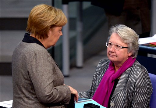 German Education Minister Quits in Plagiarism Case