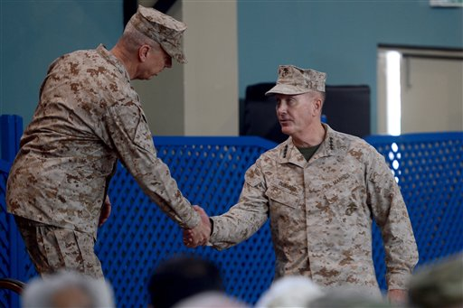 New US Commander Takes the Helm in Afghanistan