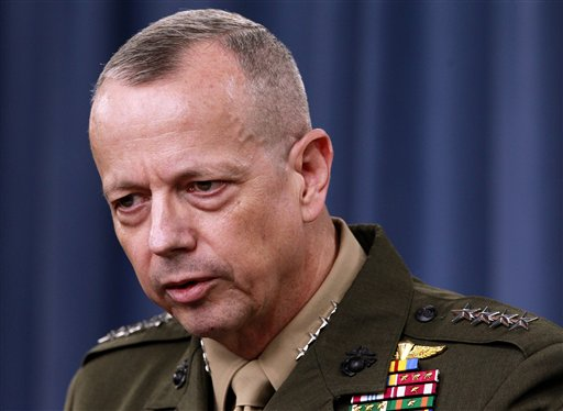 Obama Giving General Allen Time to Decide Next Assignment