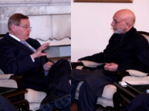 Menendez Meets with Karzai to Talk… Corruption