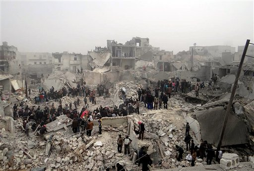 Mortars Hit Damascus Stadium, Kill Soccer Player