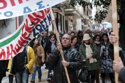 Greece Braces for 24-hour General Strike