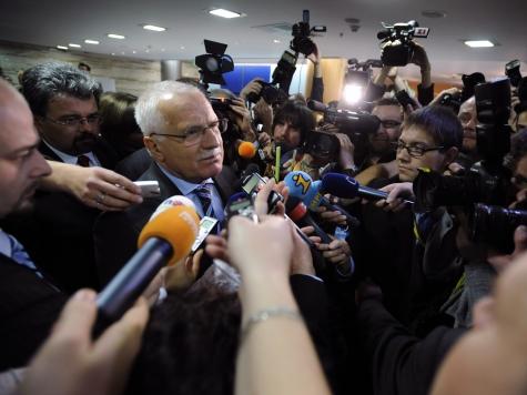 Czech Senate Accuses President Vaclav Klaus of High Treason