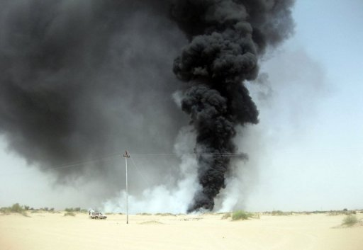 Saboteurs Blow up Yemen Oil Pipeline