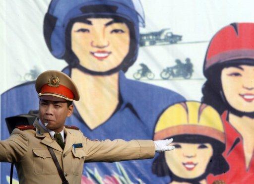 Vietnam to Ban Short, Fat Traffic Police in Hanoi