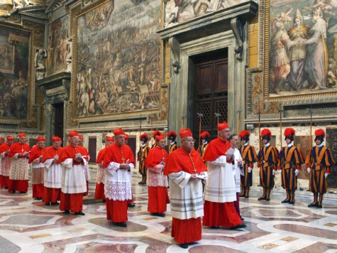 Watching the Cardinals as the Conclave Begins