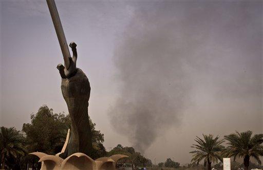 Attack on Iraqi Justice Ministry Kills 24