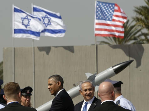 Four Rockets Fired from Gaza into Israel as Obama Visits
