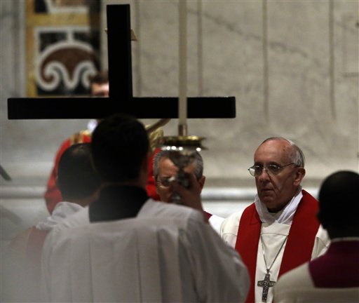 Pope's Foot-Washing Final Blow for Traditionalists