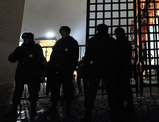 Russian Police Detains Dozen Activists Near Red Square