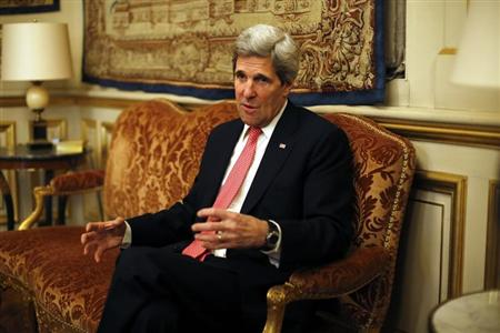 Report: Secretary of State Kerry to Visit Turkey