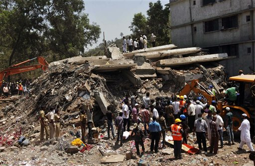 Building Collapses in India, at Least 45 Dead