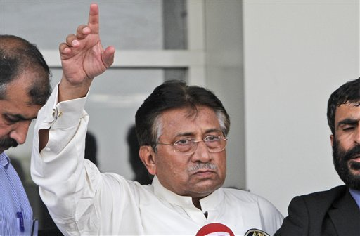 Pakistan Court to Musharraf: Answer Treason Claims