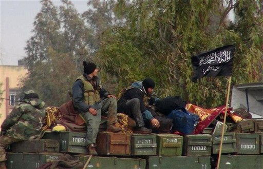 Syrian Militant Group Vows Allegiance to Al-Qaida