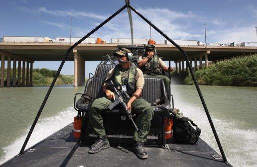 American Marries Mexican on Rio Grande River Border