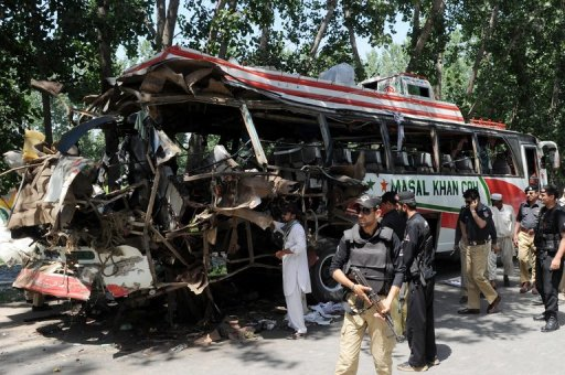 NW Pakistan Bus Blast Kills Nine