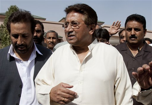 Police arrest former Pakistani ruler Musharraf