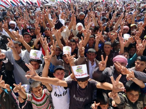 Army: Iraqi Forces Clash with Protesters, 27 Dead