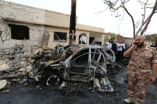 France Vows Libya Embassy Attackers Will Pay