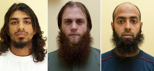 British Muslim Trio Jailed for Planning Terror Acts