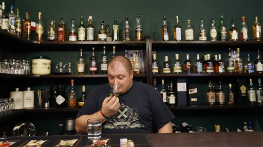 Czech Communist Whiskey Matures to Excellence