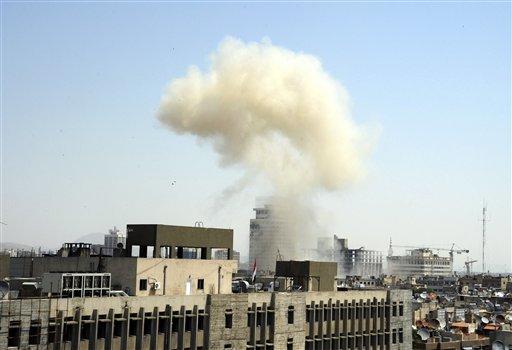 Bombing in Damascus Kills 13 People