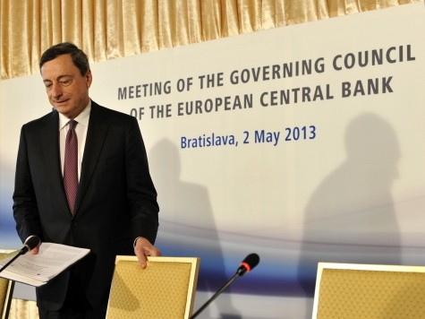 European Central Bank Considers Negative Interest Rates