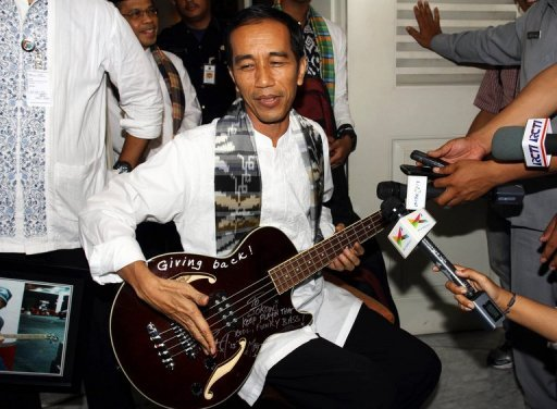Indonesian Governor Surrenders Metallica Guitar