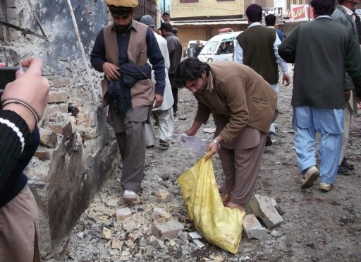 Bomb Kills Five, Wounds Pakistan Vote Candidate