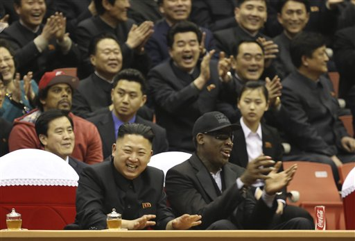 Rodman to Kim Jung Un: 'Do Me a Solid' and Free American