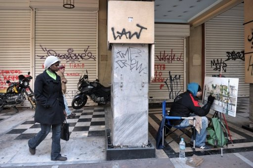 Greek Unemployment Rises to 27 Percent in February