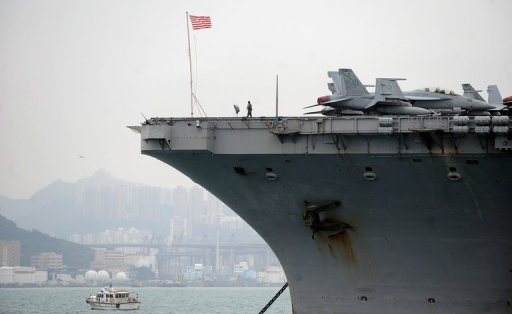US Aircraft Carrier Nimitz to Join S. Korea Drills