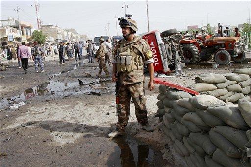 Car Bombs in Baghdad, South Iraq Kill at Least 40