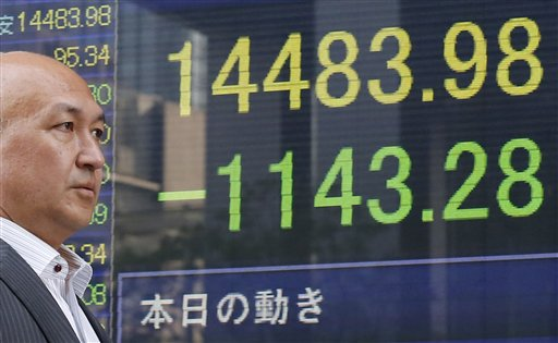 Markets Roiled by Nikkei's 7.3 Percent Slide