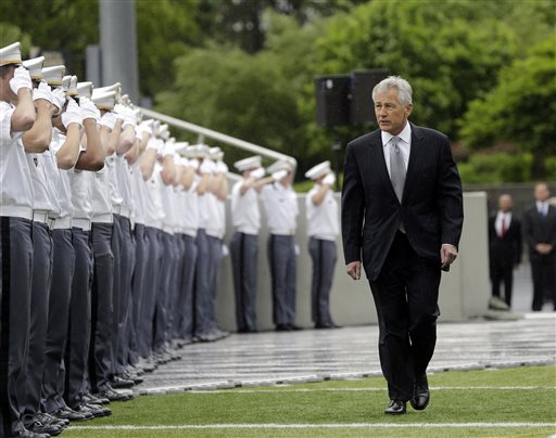 Hagel: Cadets Must Stamp Out Sex Assault Scourge