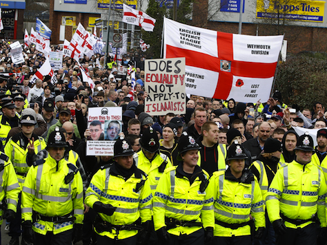 British Take to Streets to Protest Barbaric Woolrich Beheading