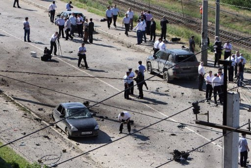 Suicide Bomber Wounds 11 in Russia's Dagestan