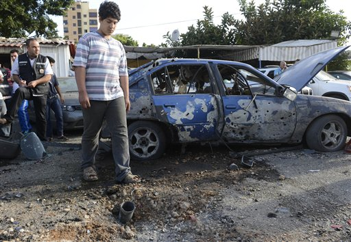 Rockets in Lebanon capital signal Syrian spillover