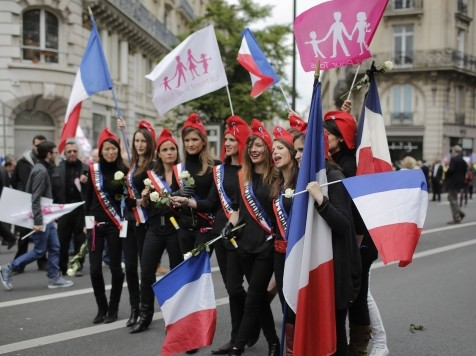 Millions Take Part As Traditional Marriage Movement Sweeps Through France