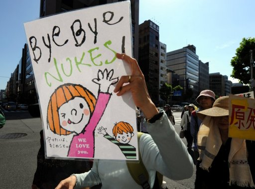 Thousands Rally Against Nuclear Power in Tokyo