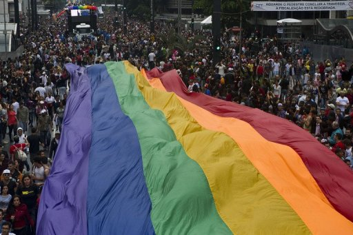 Gay Pride in Sao Paulo Draws One Million