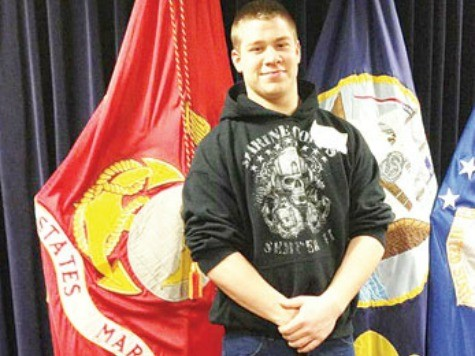 High School Forcing Marine to Cover Uniform for Graduation
