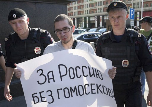 Russian Parliament to Vote on Anti-Gay Bill