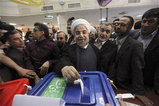 Iran's Leader Jabs US as Presidential Vote Begins