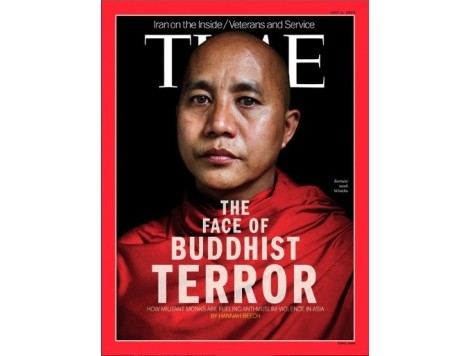 Myanmar Bans Time's 'Buddhist Terror' Cover Story