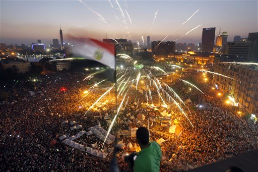 Crowds March in Egypt, Pushing for Morsi Removal