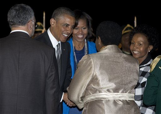 What are the Obamas Doing in Africa?
