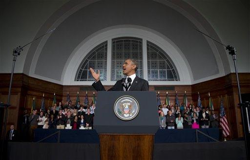 In Africa Keynote, Obama Channels Mandela, Kennedy, Gandhi